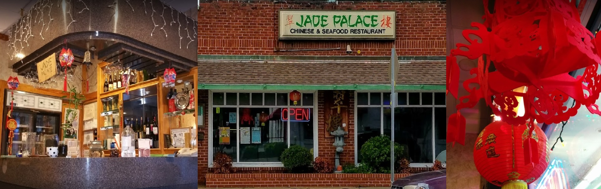Your favorite Chinese food at Jade Palace Restaurant